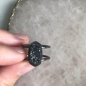 Kendra Scott Jewelry - Kendra Scott Elyse Ring -Gunmetal